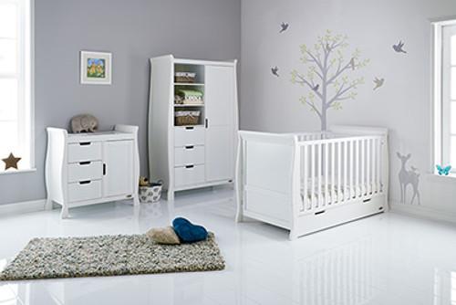 Obaby Stamford 3 piece nursery room set