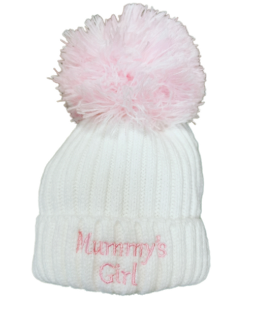 Mummy's Girl Baby Hat
