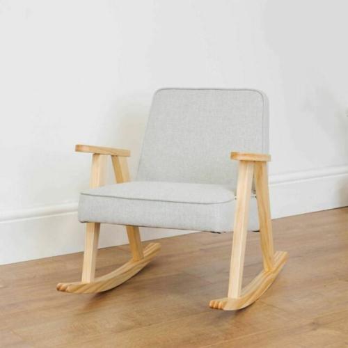 Children's Rocking Chair - Grey Modern Bambino Rocking Chair