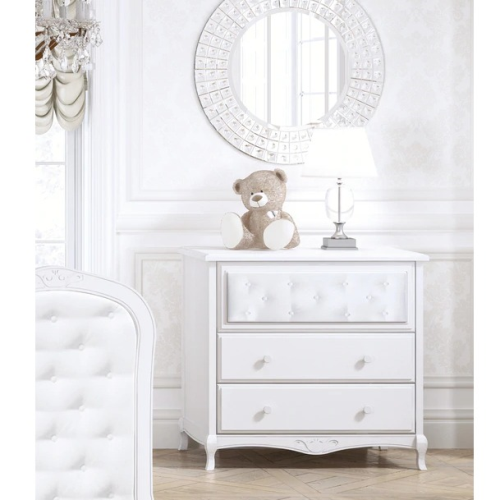 Bebecar Trama Luxury Dresser in White