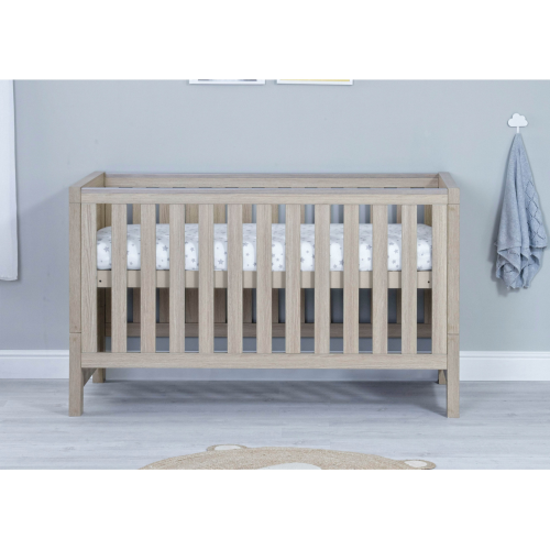 Babymore Luno Oak Cot Bed