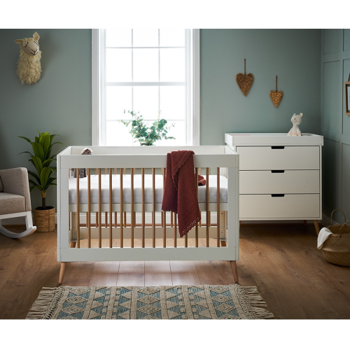OBaby Scandi Style Mini 2 Piece Nursery Furniture Set Maya