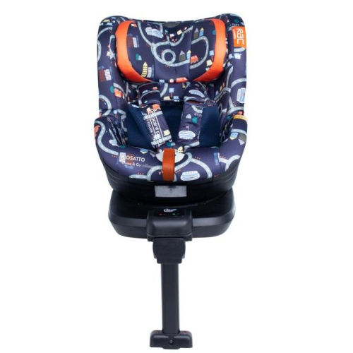 RAC Come and Go i-Rotate i-Size Car Seat - Road Map