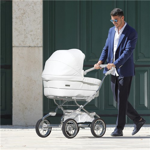 Bebecar Stylo Class White Delight 3 in 1 Travel System