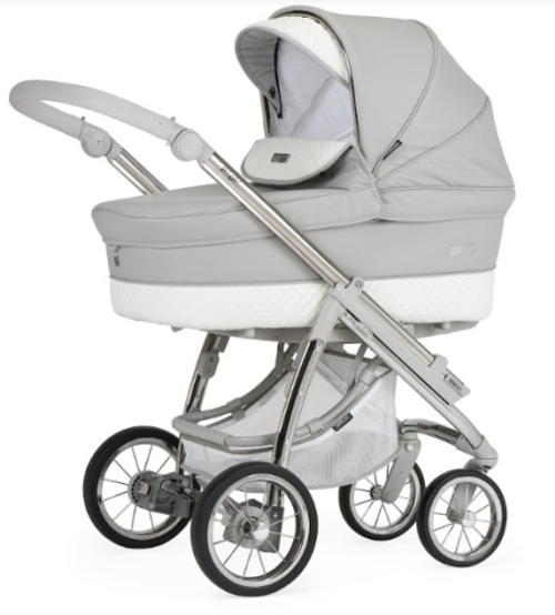 bebecar ip-op silver grey pram package