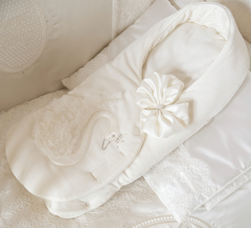 Designer Baby Nest Single Swan
