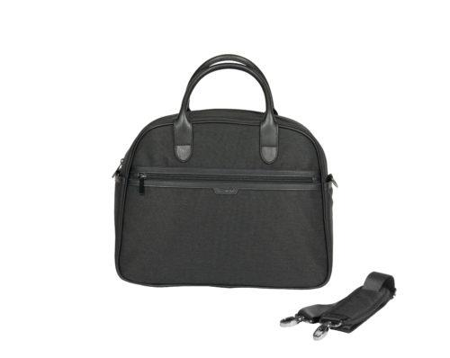 icandy black twill changing bag