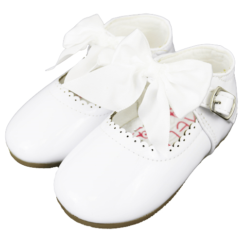 White Baby Girls Kylie Shoes