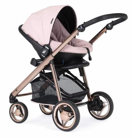 bebecar pink rose gold car seat v pack 2020