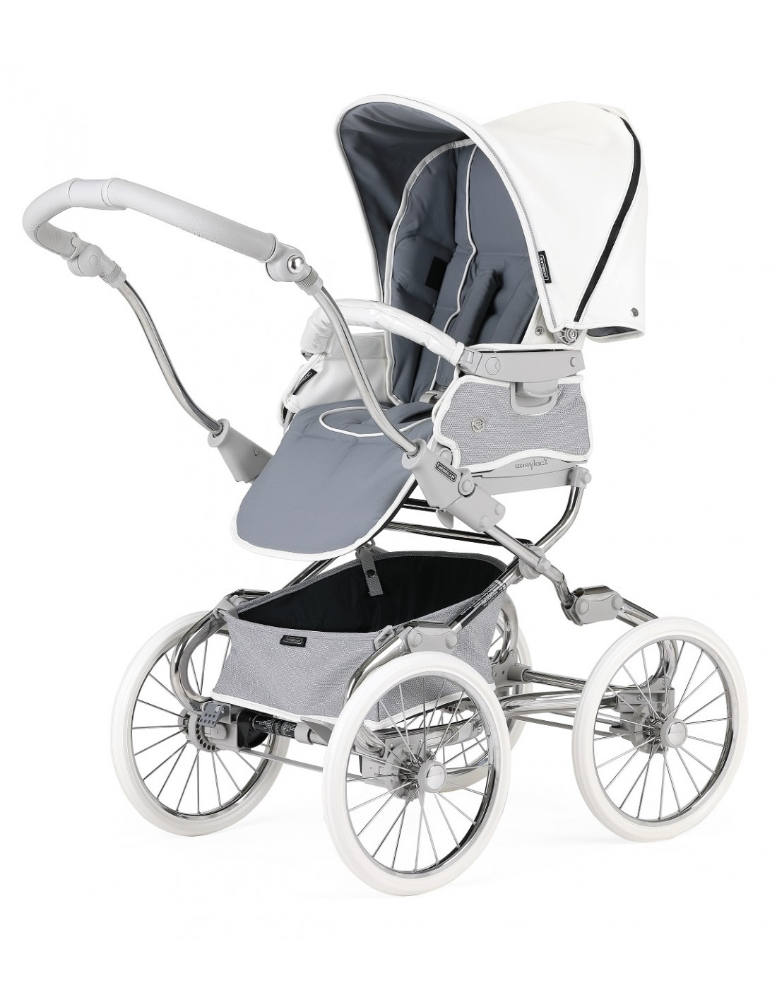 bebecar steel shimmer pushchair