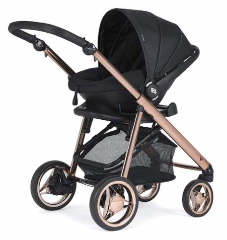 bebecar rose gold black car seat