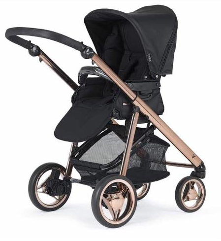 bebecar rose gold pushchair