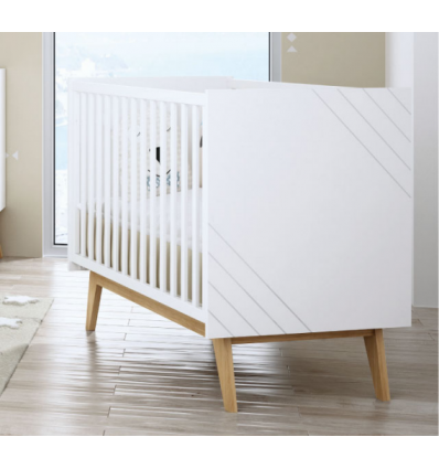 bebecar trama nuova cot bed - scandi style cot bed