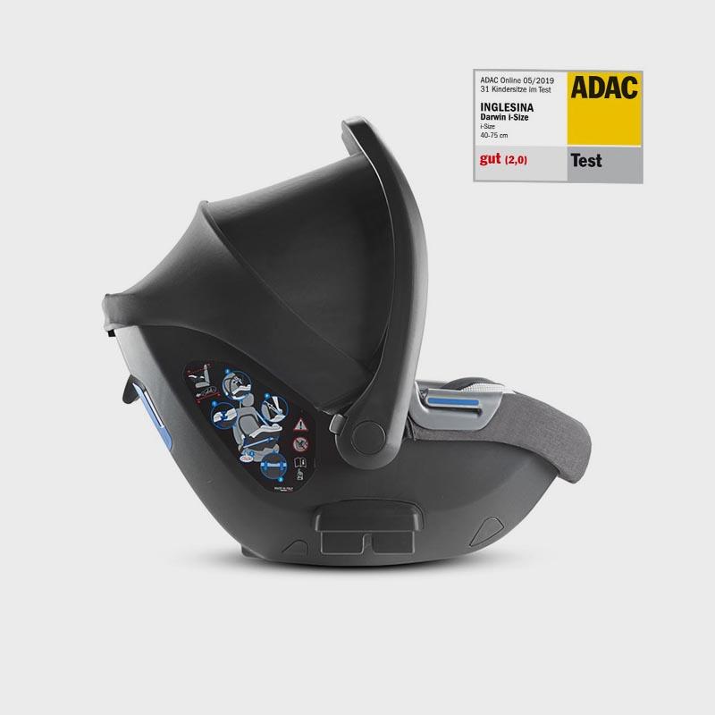 inglesina kensington grey car seat