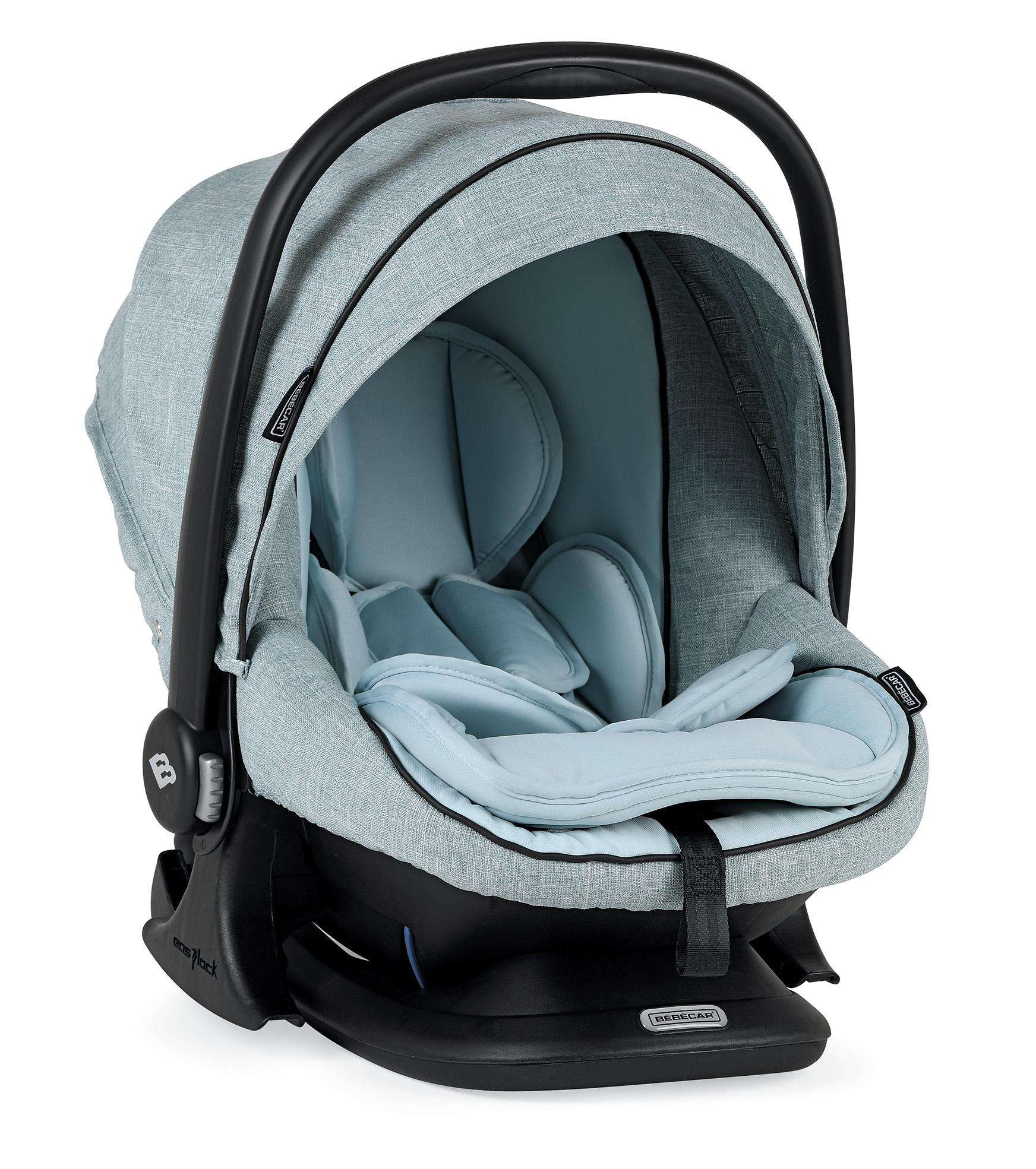 bebecar pack prow blue car seat