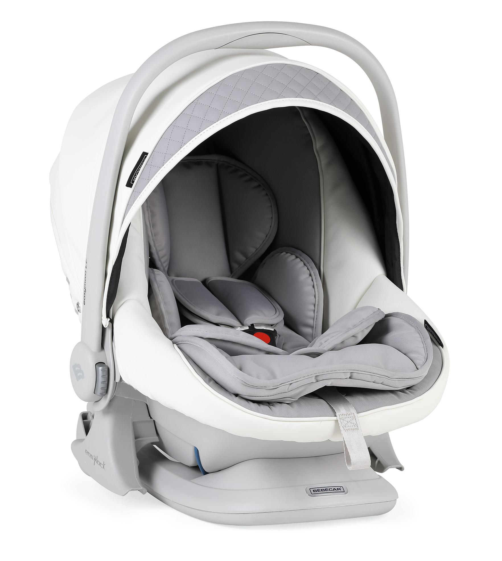 bebecar ip-op dove grey car seat