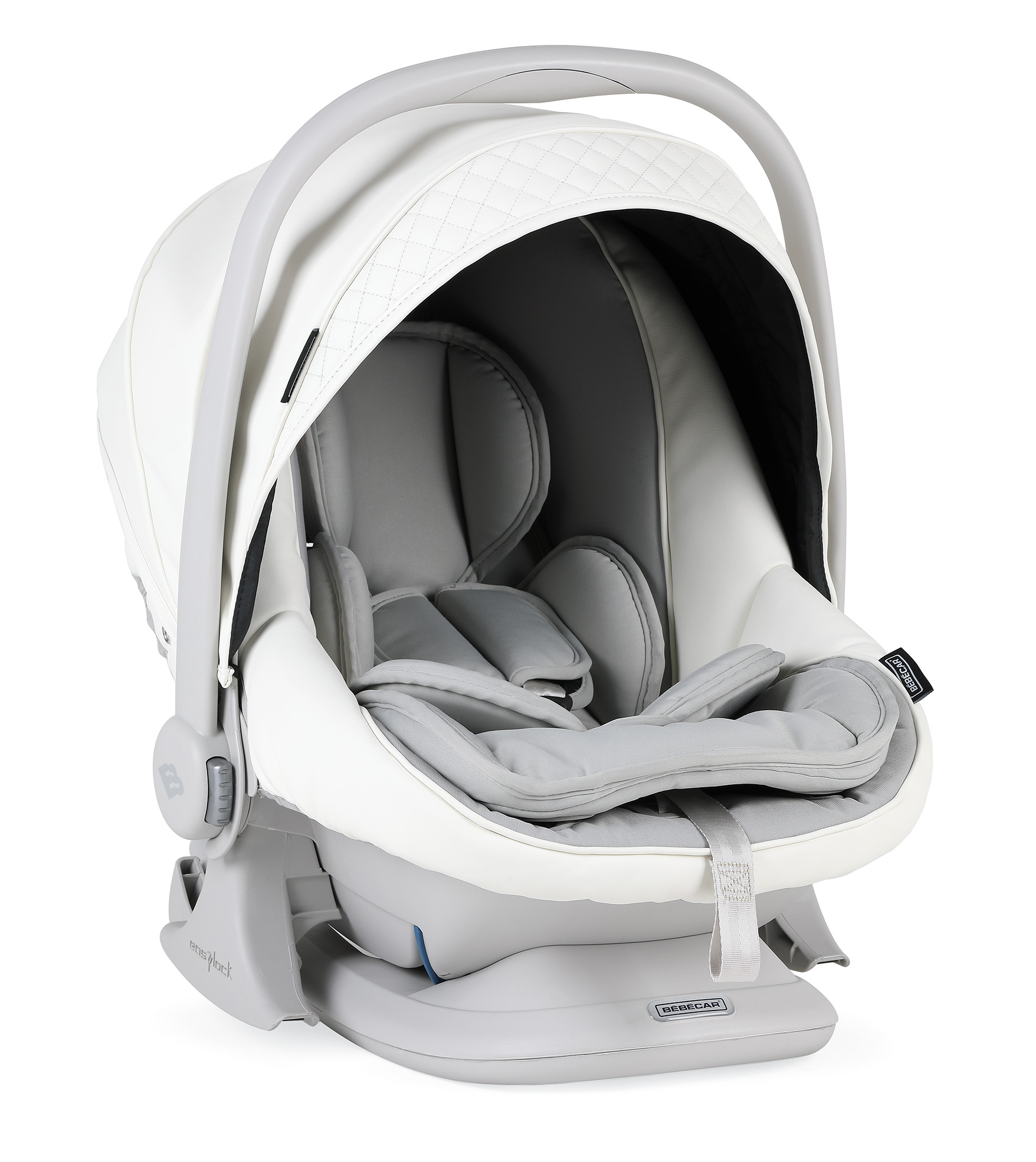 bebecar white delight car seat stylo class