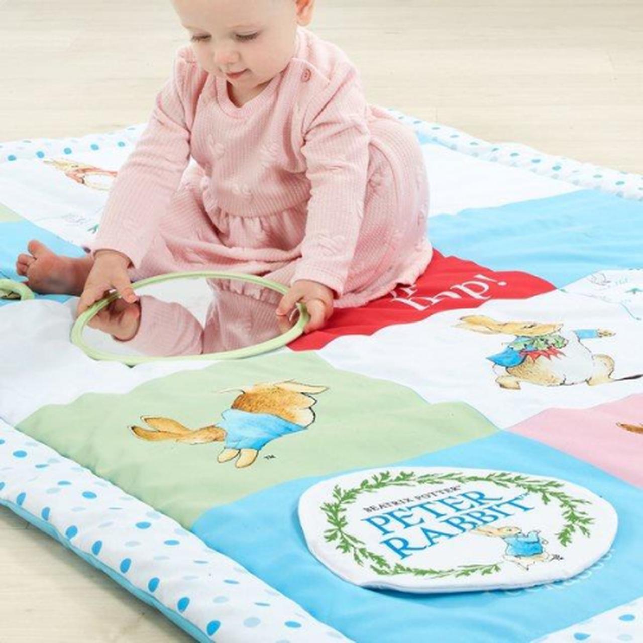 peter rabbit activity mat