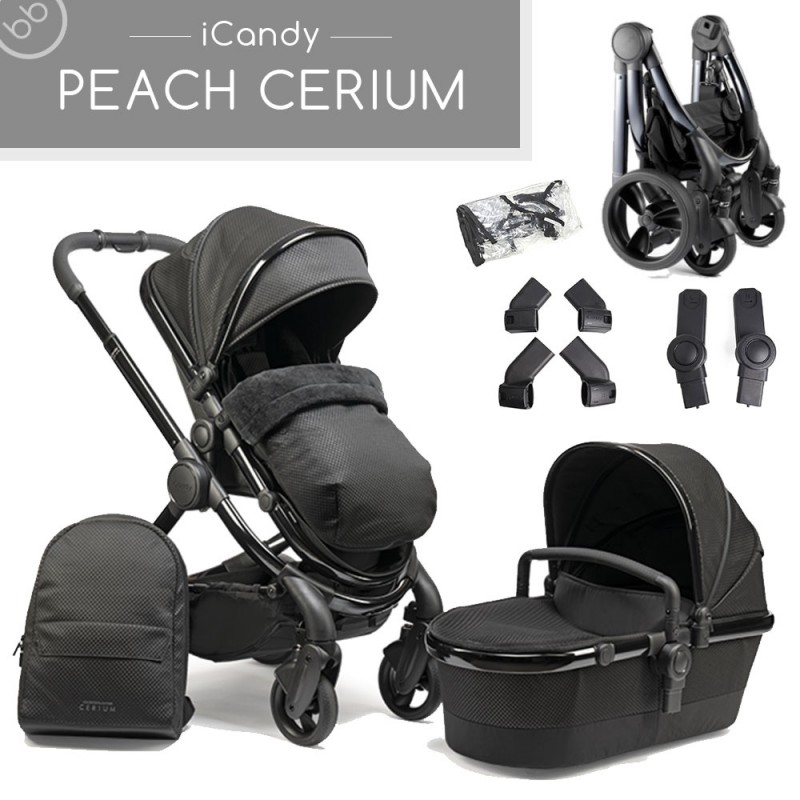 icandy peach cerium designer pushchair
