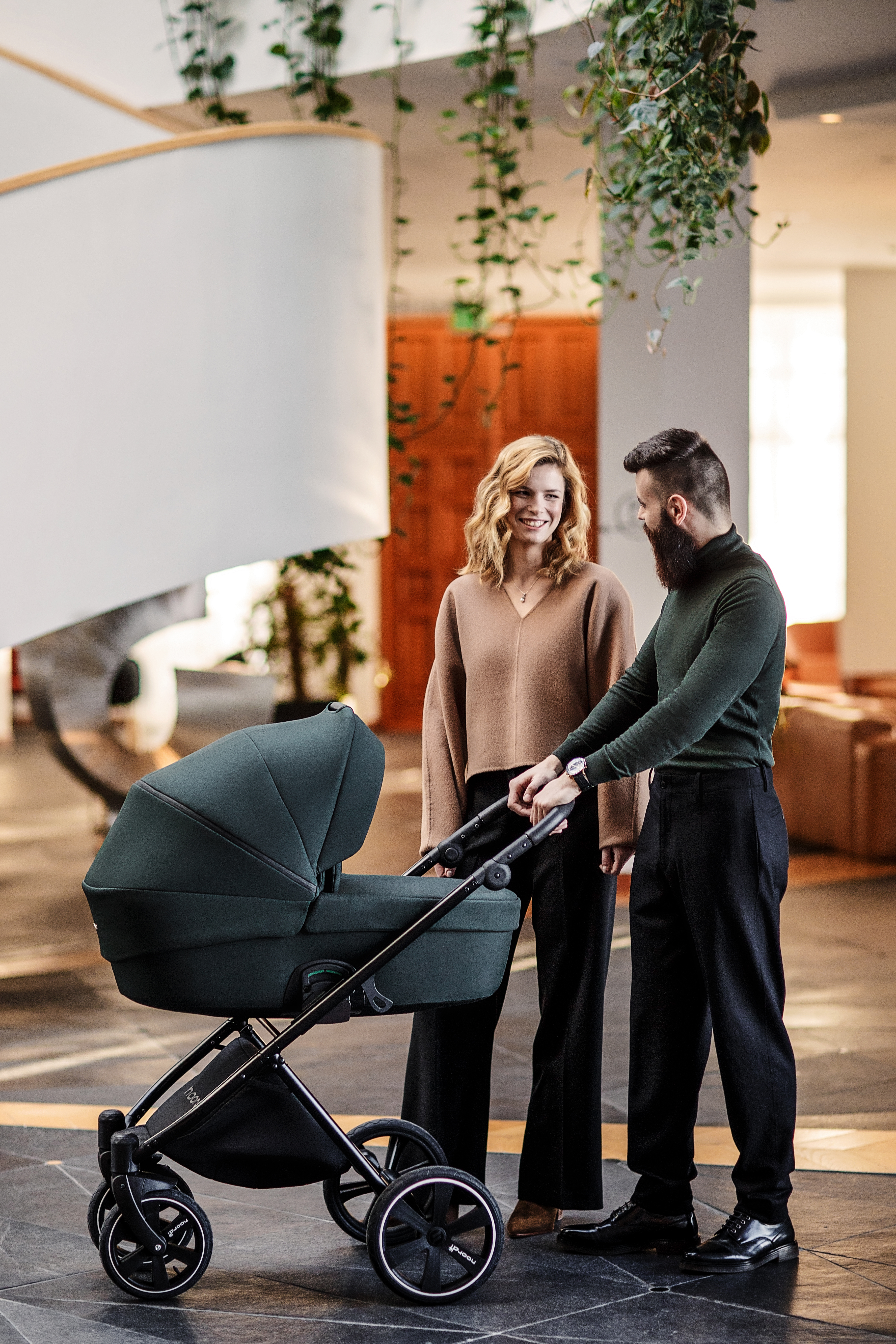 noordi luno 3 in 1 forest green travel system