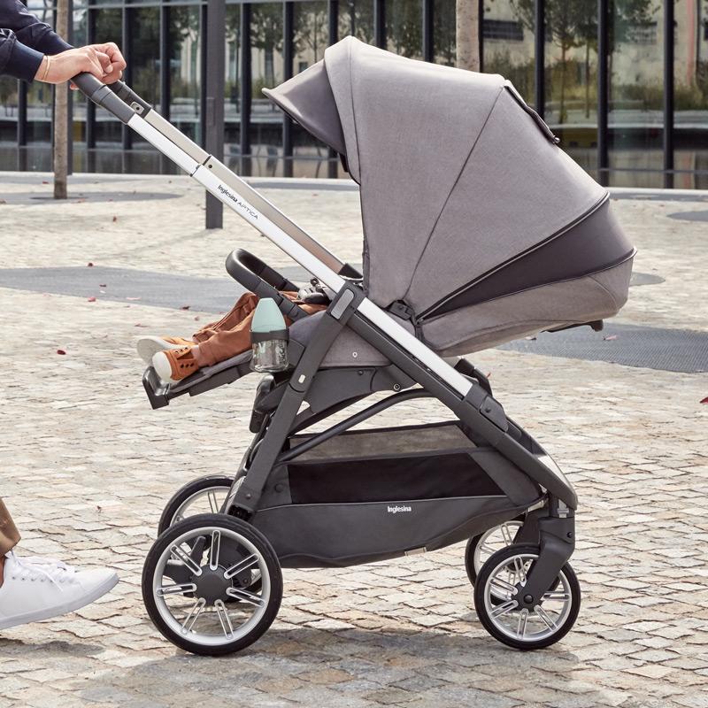 inglesina aptica kensington grey pushchair
