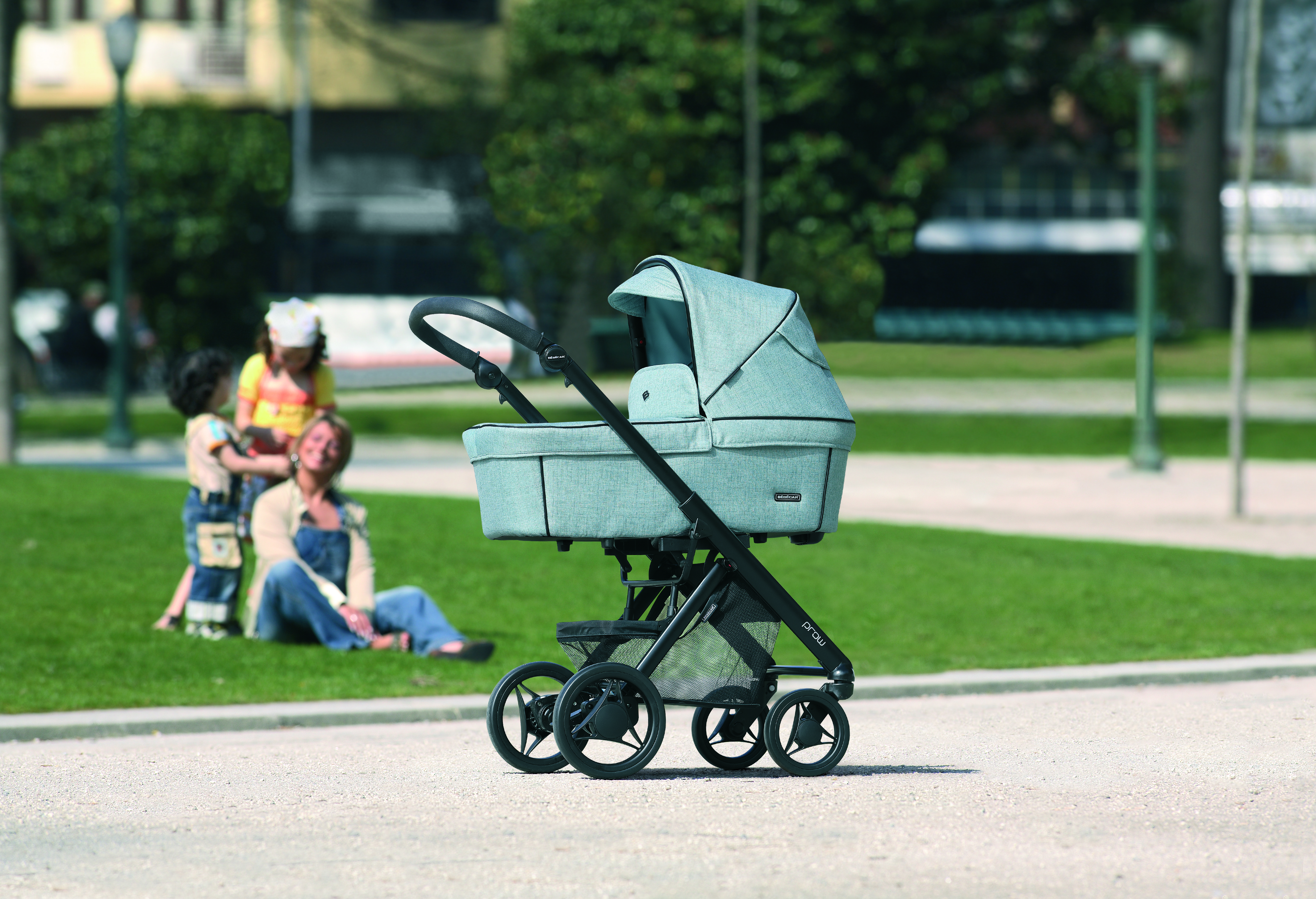 bebecar pack prow 3 in 1 travel system blue