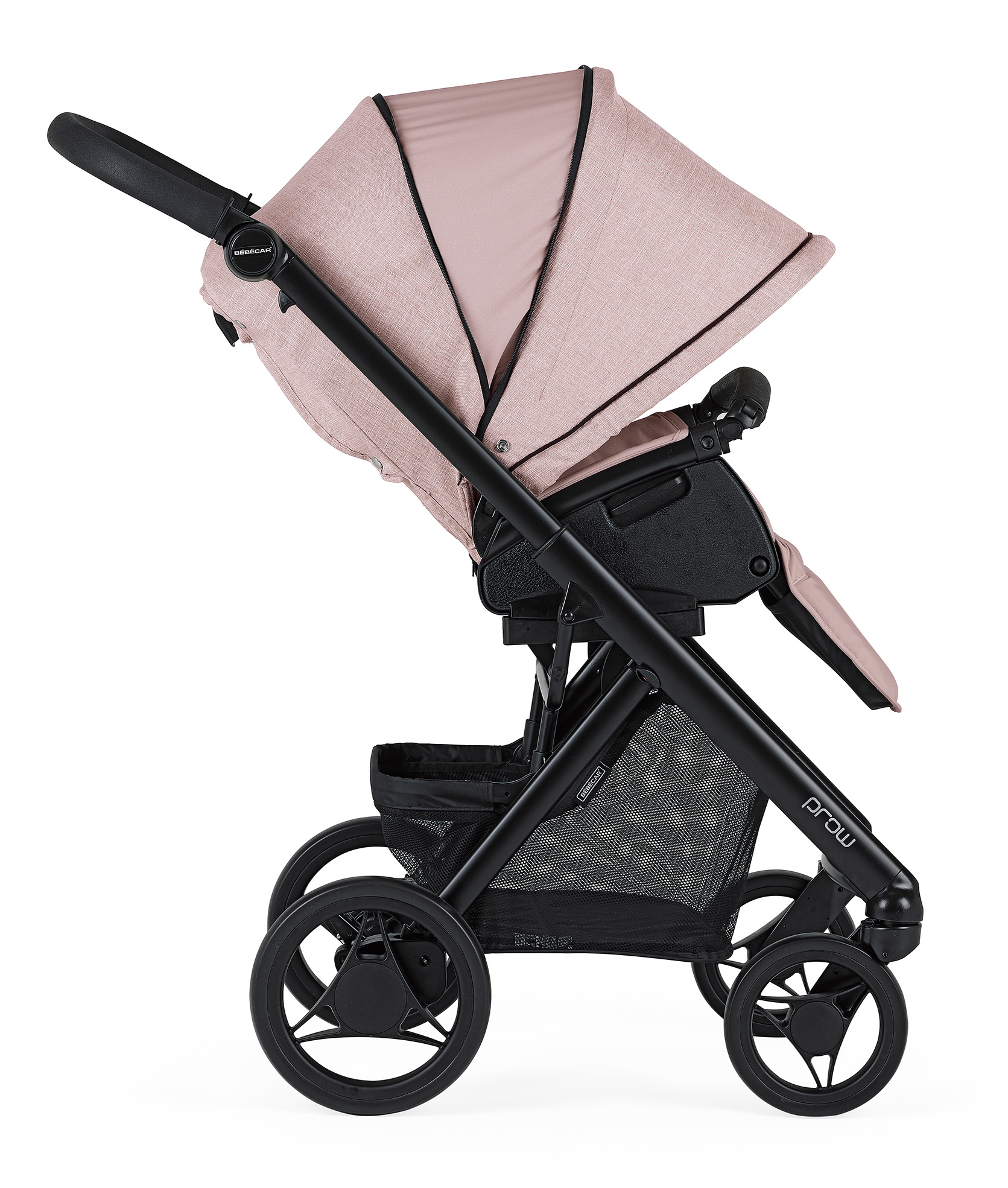 bebecar pack prow pink pushchair