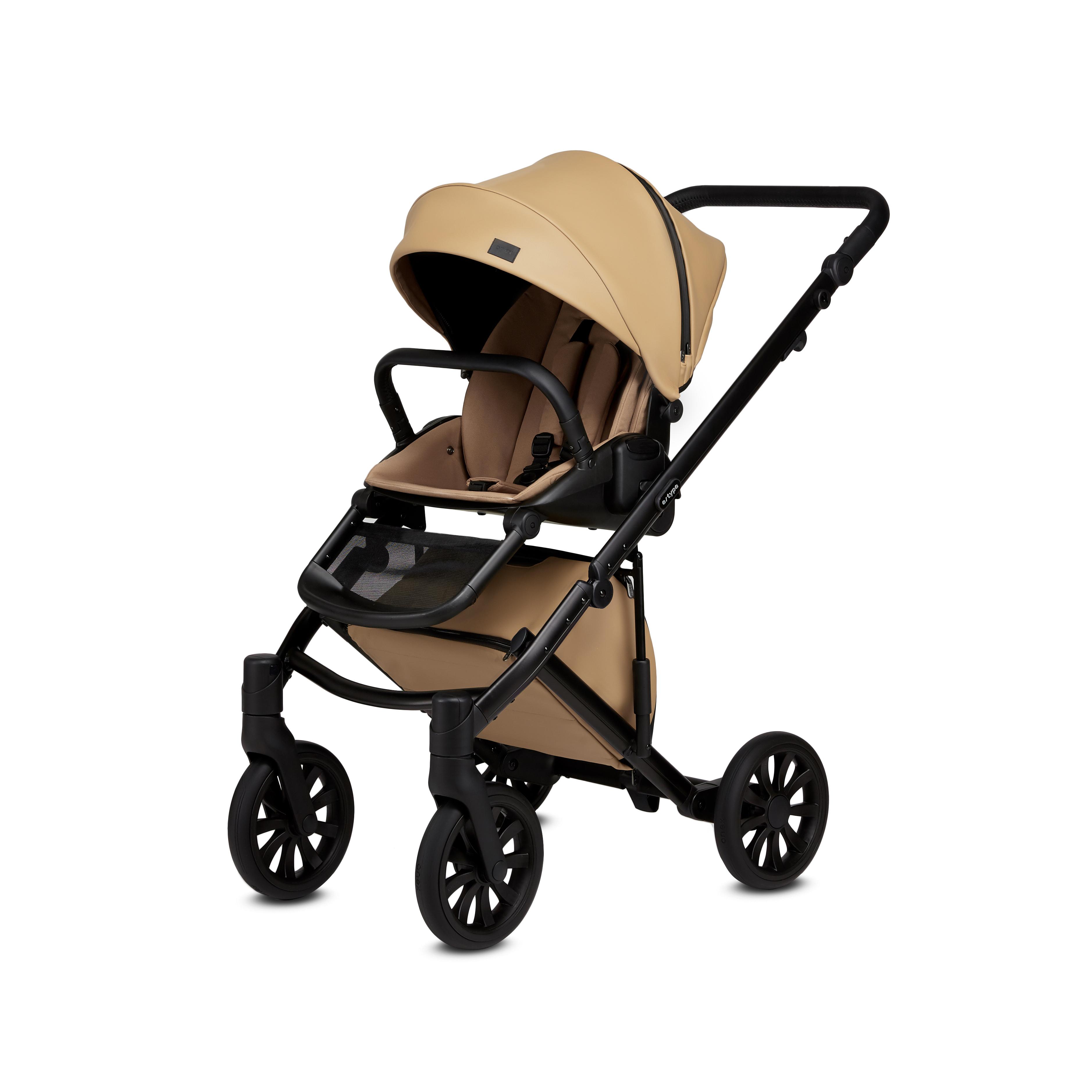 Anax Baby E Type Stroller Caramel