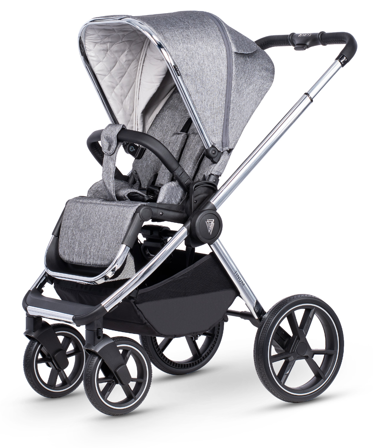 venicci tinum 2.0 rock graphite pushchair