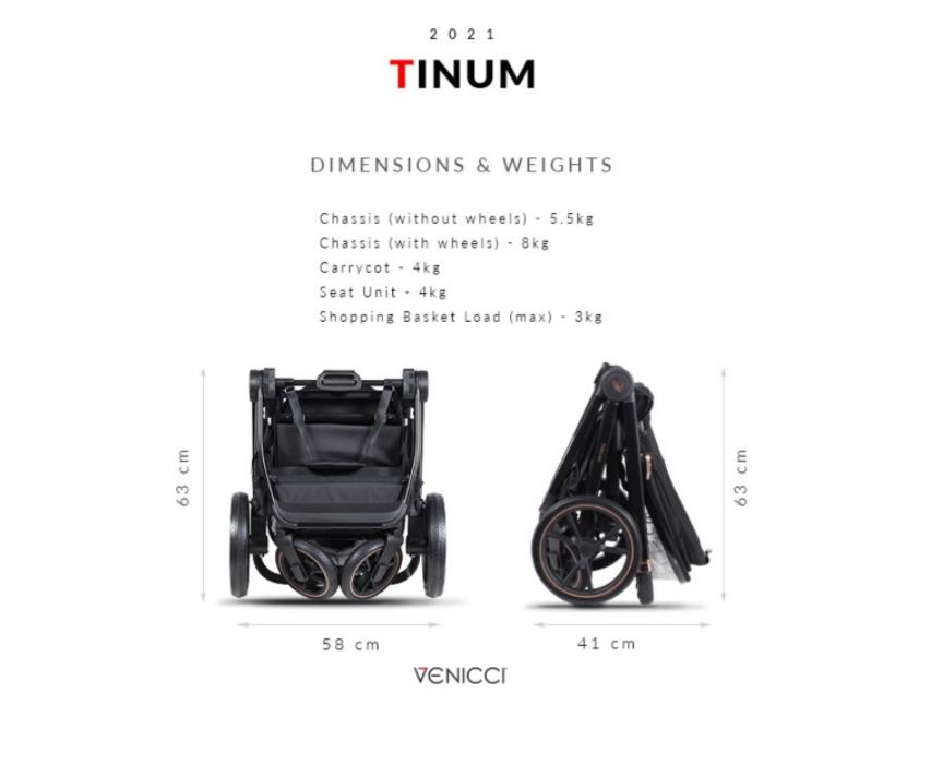 venicci tinum special edition folded size