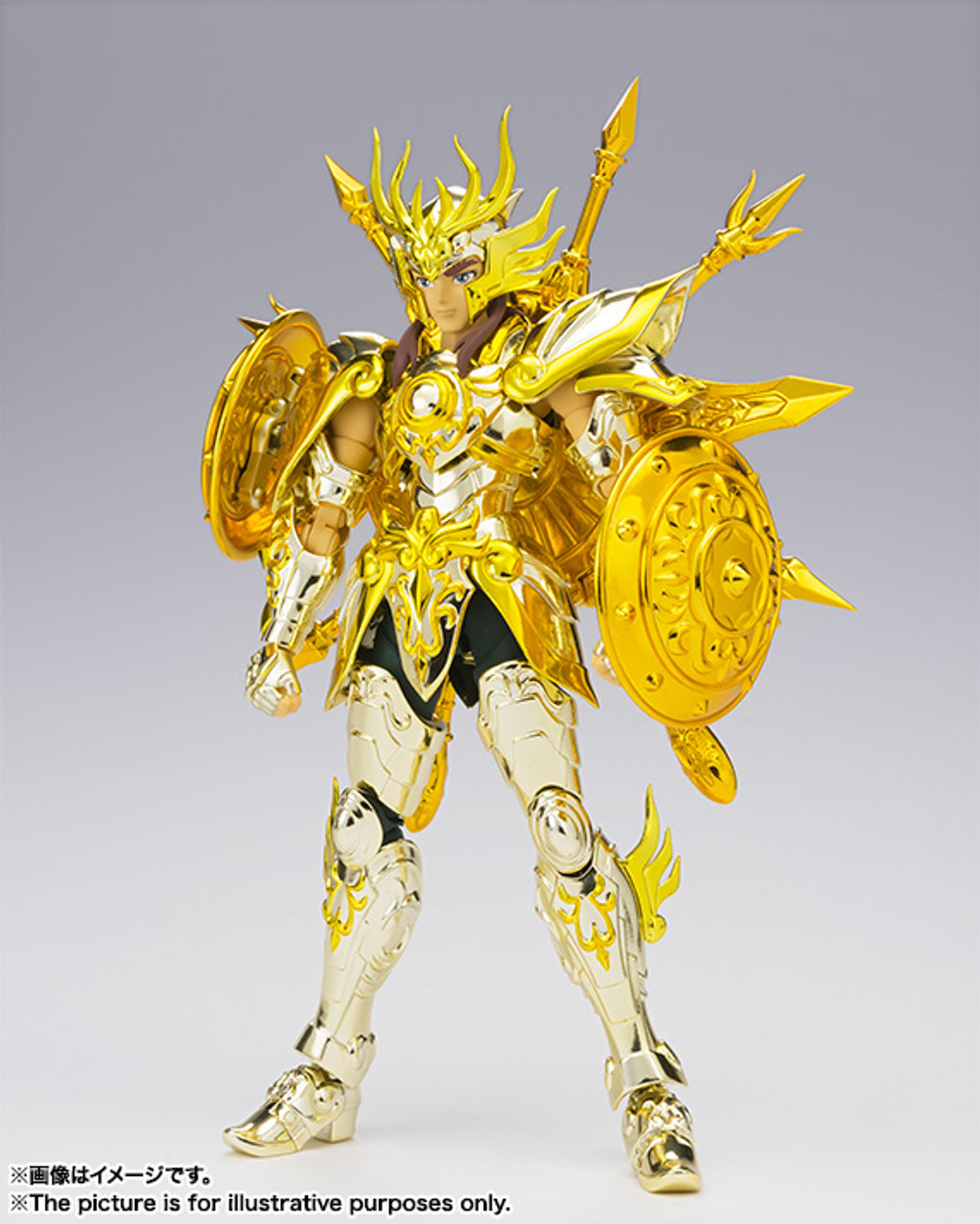 Bandai Saint Seiya Libra Dohko God Cloth Myth EX Soul of God Action Figure F//S