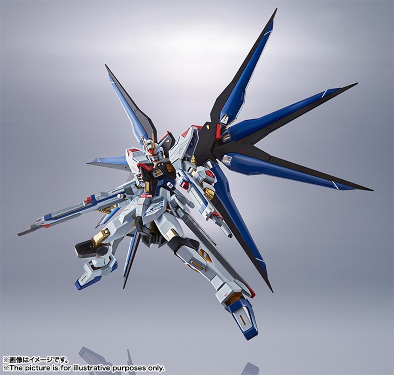 Premium Bandai METAL ROBOT SPIRIT SIDE MS XN Raiser   Seven Sword Parts Set F//S