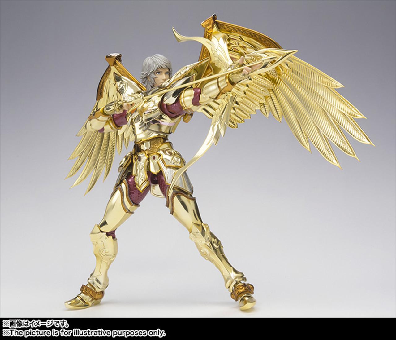Bandai Saint Seiya Sagittarius Aeolus God Cloth Saint Cloth Myth EX Soul of Gold