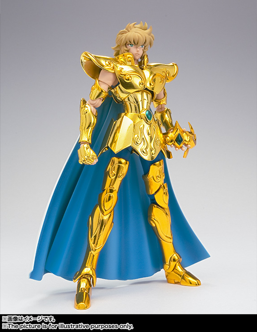 bandai saint seiya DD D.D.Panoramation LEO AIOLIA gold cloth action figurine