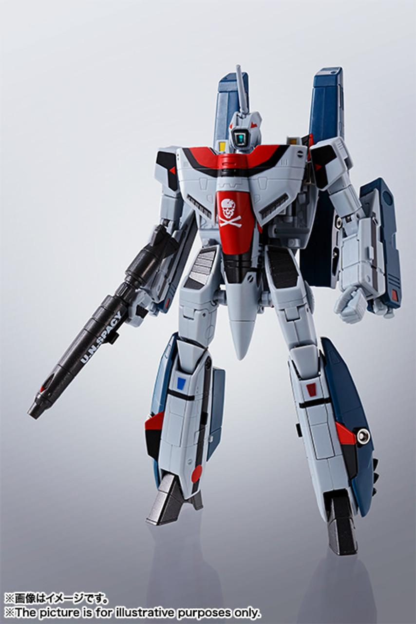 Macross Bandai IN STOCK Hikaru Ichijyou Custom HI-METAL R VF-1A Super Valkyrie