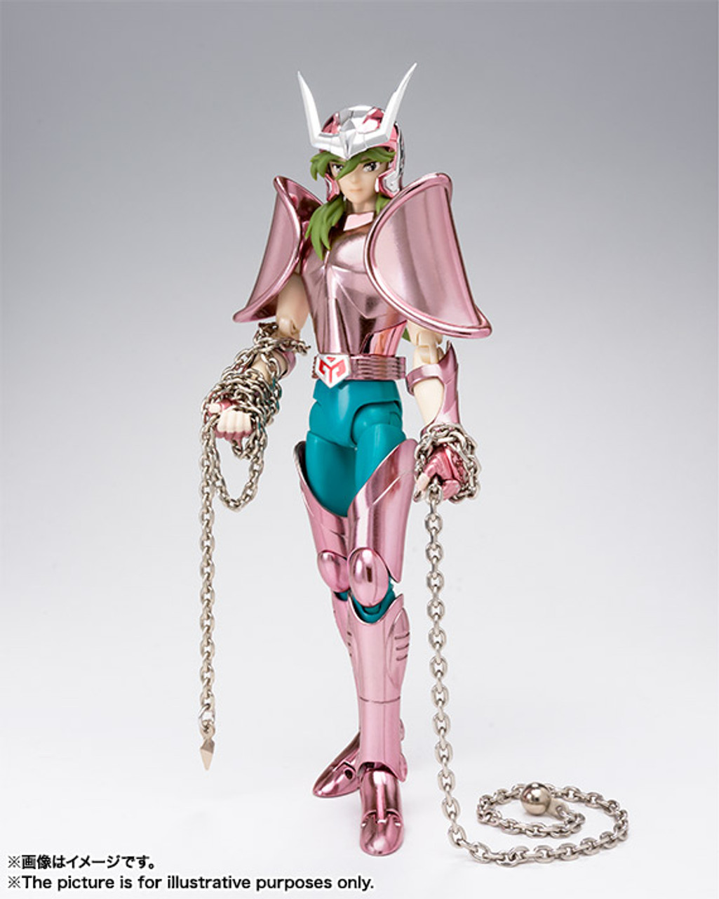 JAPAN BANDAI Saint Seiya Cloth Myth Bronze Andromeda Shun Figure Revival