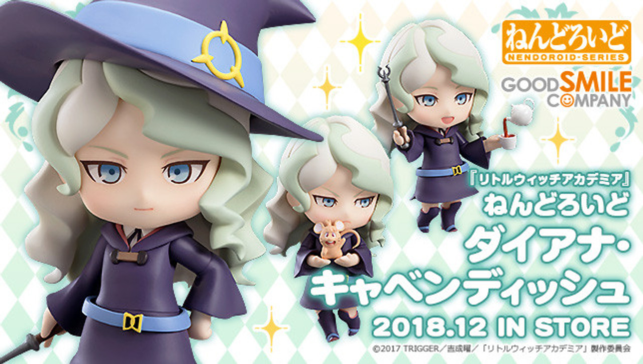 Good Smile Little Witch Academia Diana Cavendish Nendoroid Action Figure USA