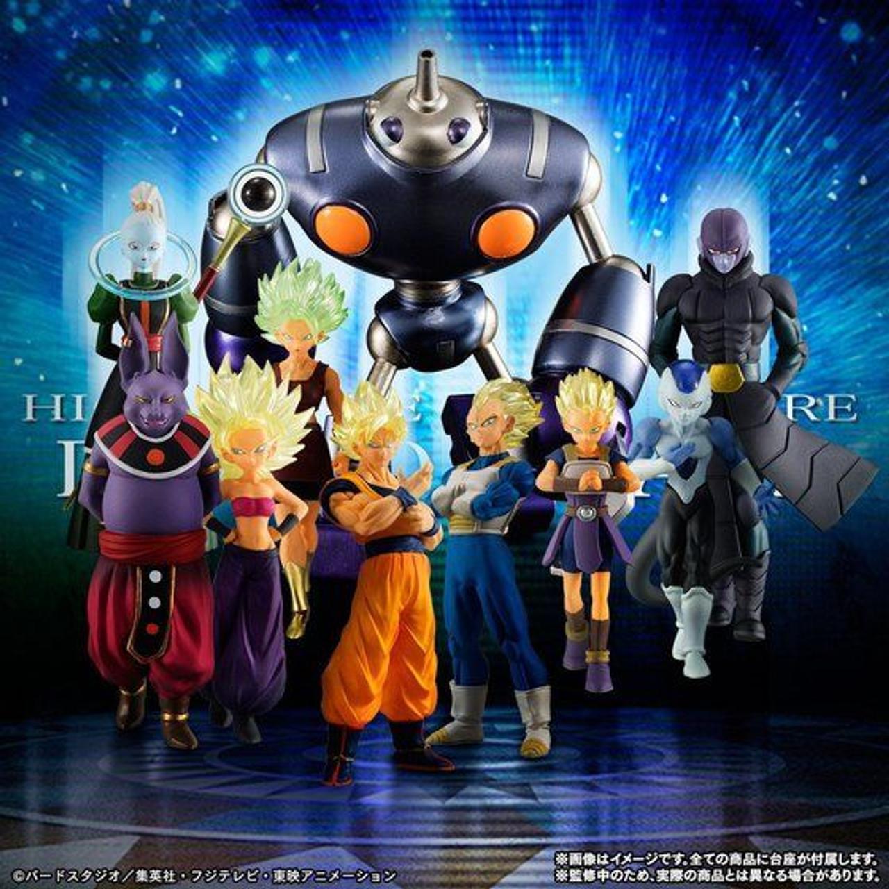 BANDAI DRAGON BALL Z Super HG Vol.8 All 5 type set Japan NEW Anime Manga