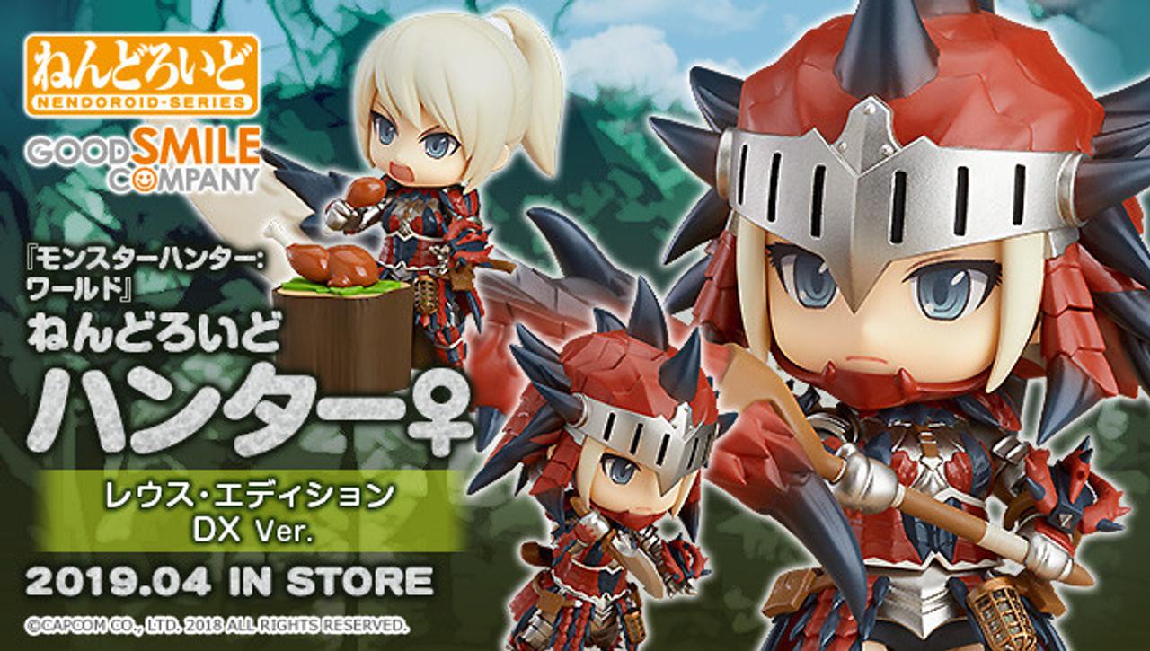 Nendoroid Hunter Female Rathalos Armor Edition Dx Ver Monster