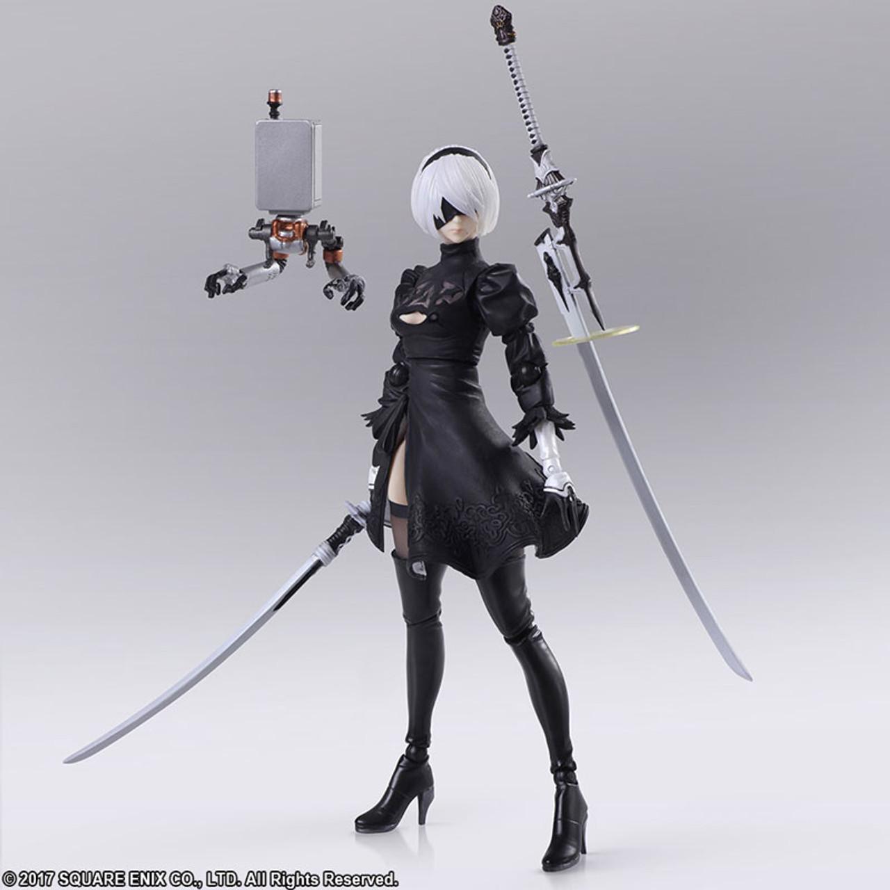 NieR Automata BRING ARTS YoRHa Model A No 2 Action Figure Square Enix F//S