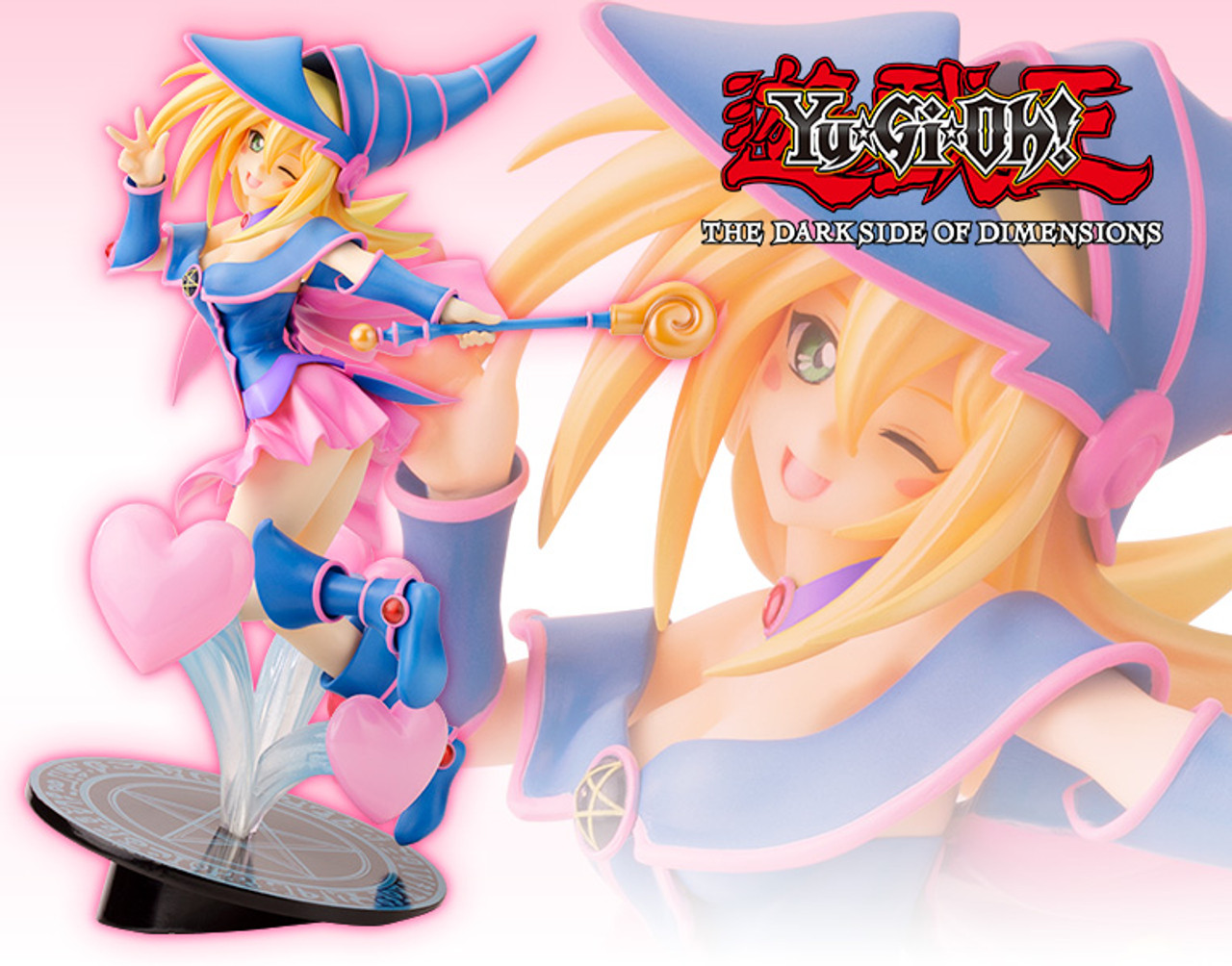 Kotobukiya YU-GI-OH THE DARK SIDE OF DIMENSIONS Apple Magician Girl Figure