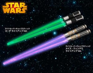 Renewal New Kotobukiya STAR WARS Lightsaber Chopstick Darth Vader Light Up Ver