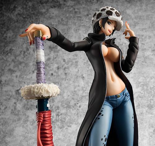 One Piece Portrait of Pirates Trafalgar Law IRO Ver EX PVC Figure Model In Box