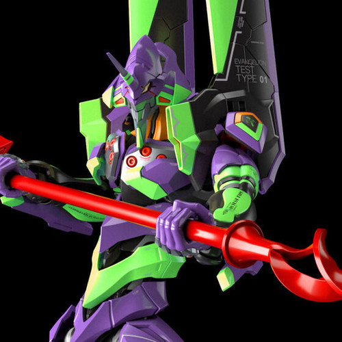 RG 1/144 Multipurpose Humanoid Decisive Weapon Artificial Human Evangelion Unit-01 (EVANGELION:3.0+1.0) Plastic Model ( FEB 2022 )