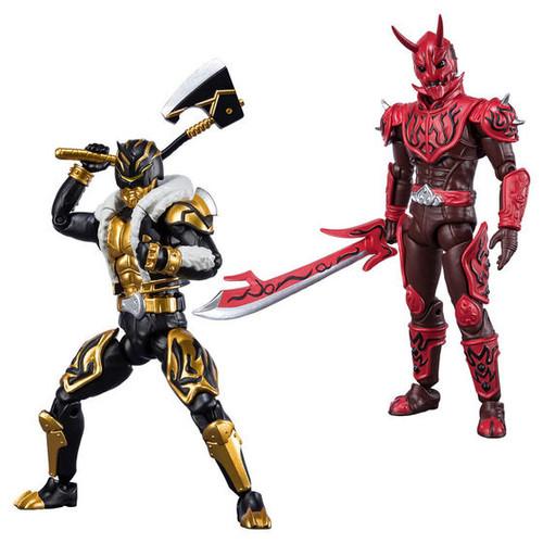 SHODO-X Kamen Rider Den-O Momotaros Imagin & Kintaros Imagin Set