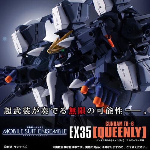 MOBILE SUIT ENSEMBLE EX35 Gundam TR-6 [Queenly] Full Armor Form