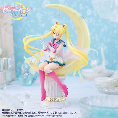 Figuarts Zero Chouette Super Sailor Moon -Bright Moon & Legendary Silver Crystal- PVC Figure
