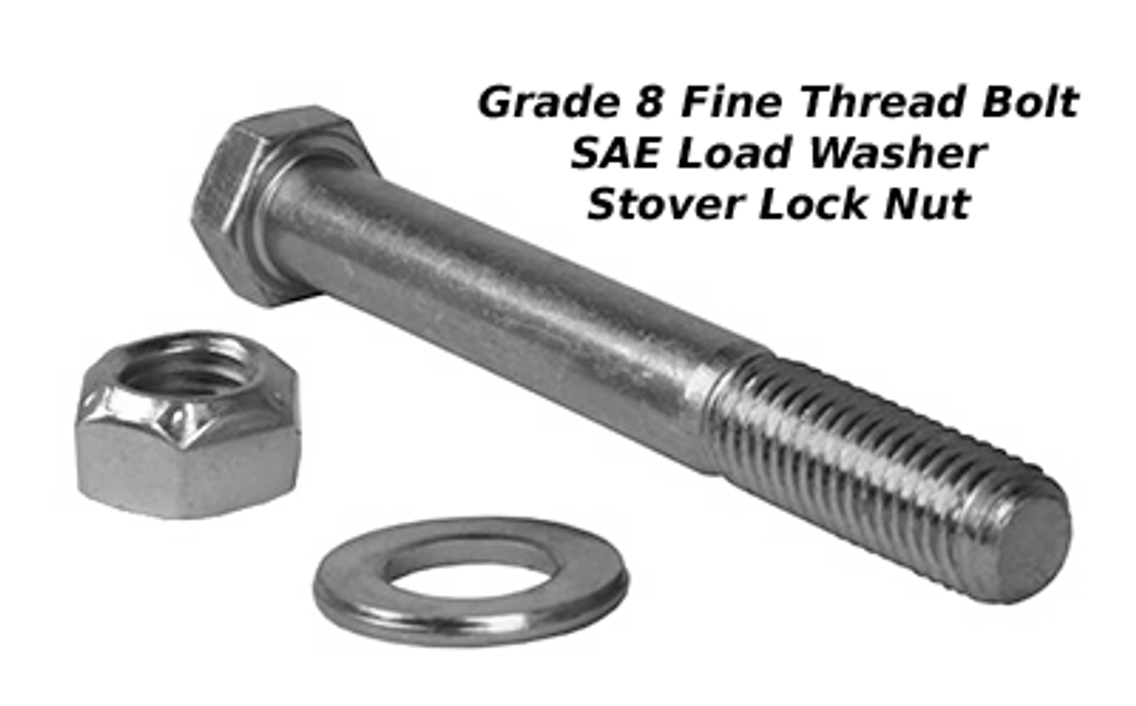 """5/8"""" x 5"""" Bolt : Includes Nut & Washer"""