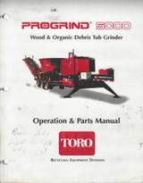 Toro Progrind 5000 Tub Grinder Manual