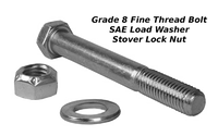 """3/4"""" x 6"""" Bolt : Includes Nut & Washer"""